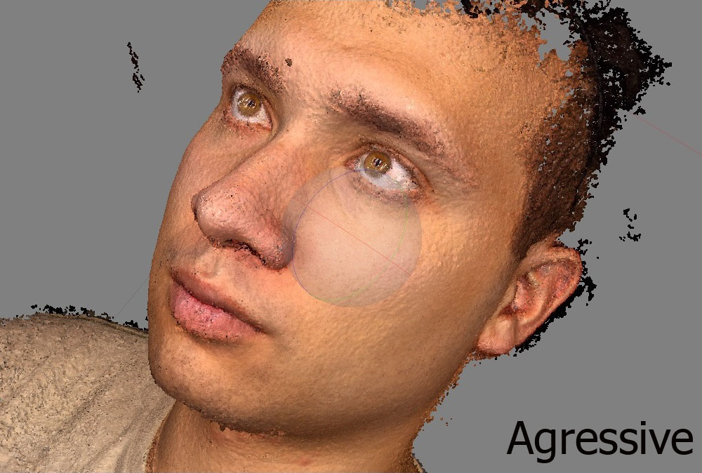 Agressive depth filtering
